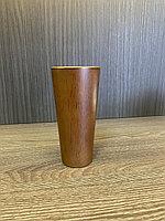 Ножка мебельная, деревянная, конус 12 см