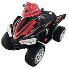 Детский электро-квадроцикл ZHEHUA 12V/7Ah,45W*2, колеса EVA, 91*66*64 см, Black-Red)