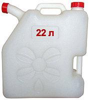 Канистра со сливом 22 литра для холодной питьевой воды