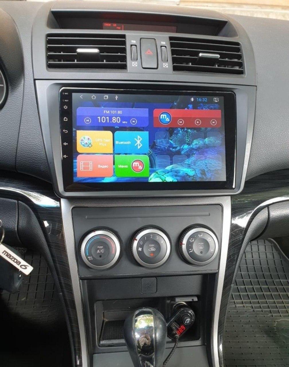 Магнитола для Mazda 6 2006 Mac Audio Android