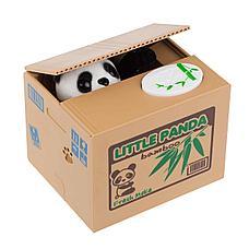 Уценка (товар с небольшим дефектом) Копилка Панда-воришка, фото 3
