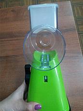 Уценка (товар с небольшим дефектом) Ручная терка на присоске с 3 насадками, фото 2