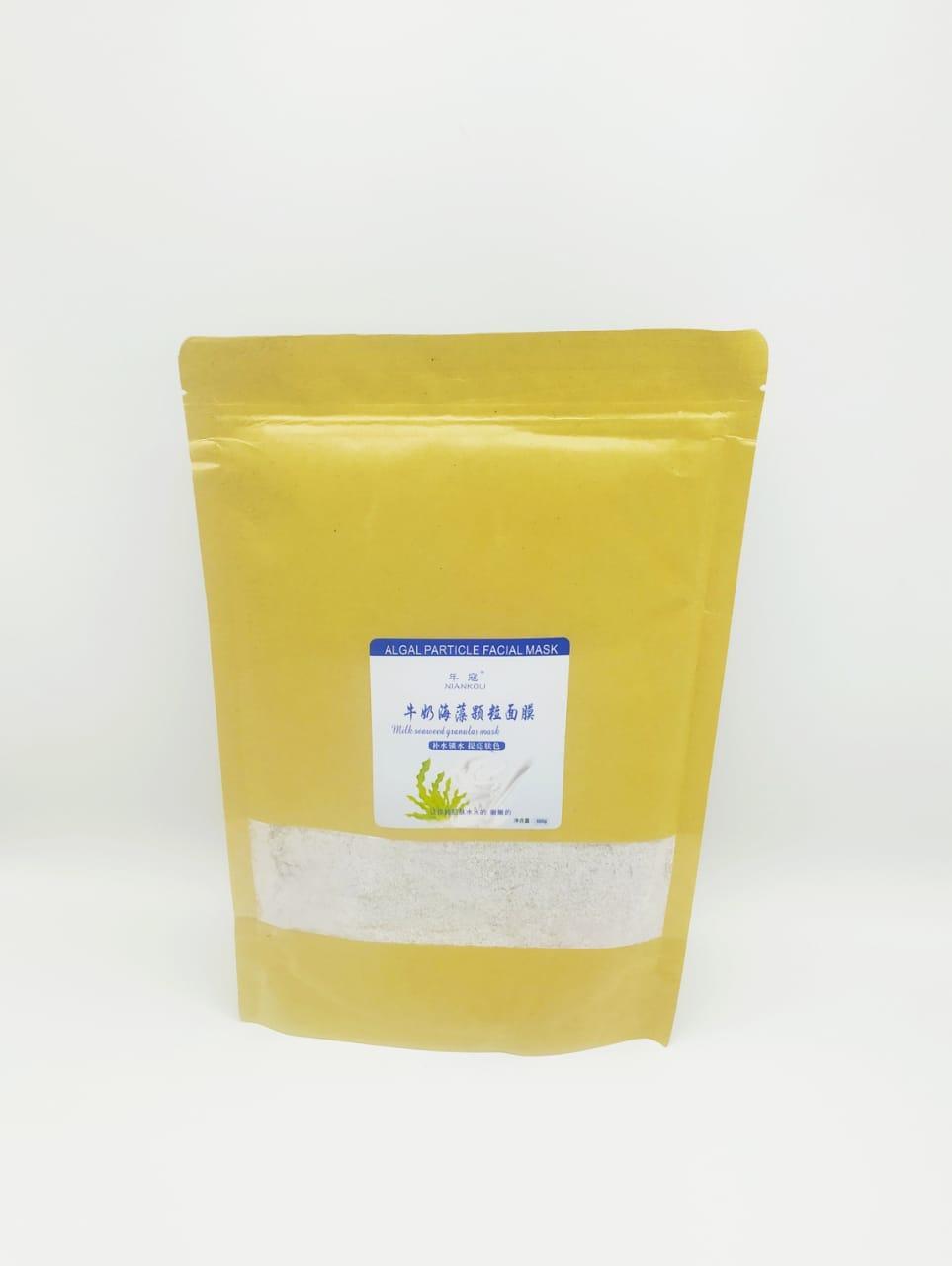 Маска из семян морских водорослей с молоком 500 ГР.