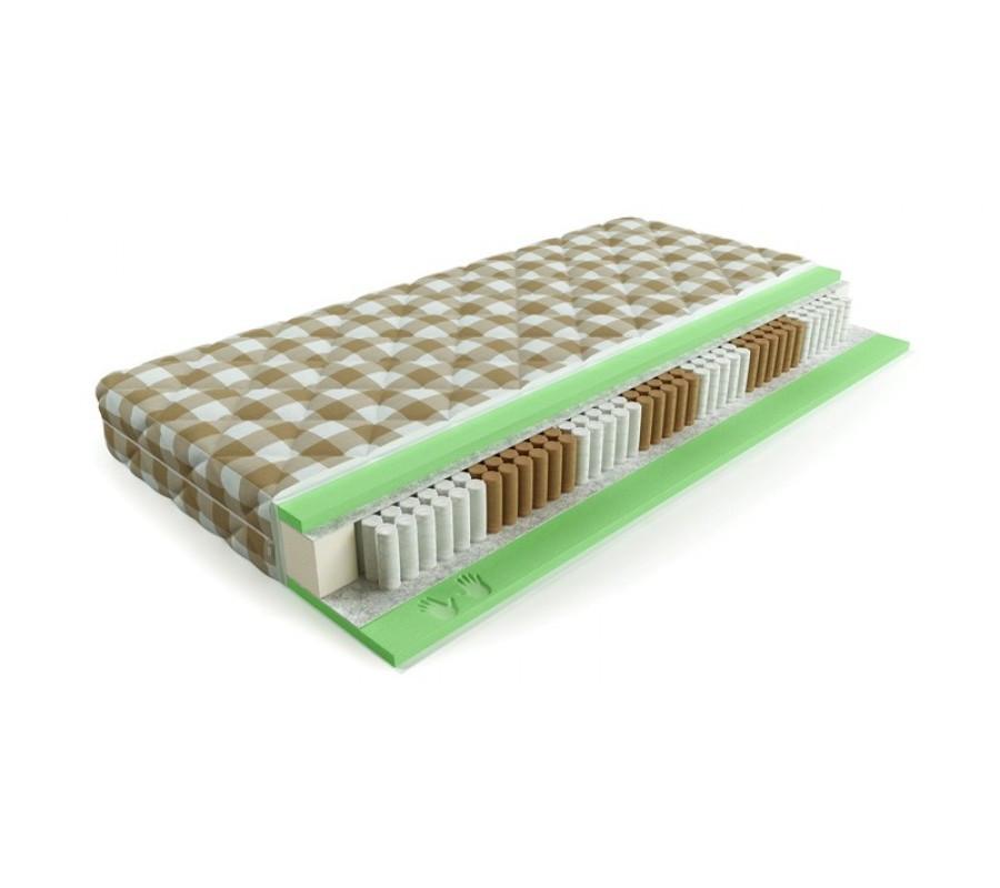 Мягкий матрас «Мемори soya» с эффектом памяти 200х200