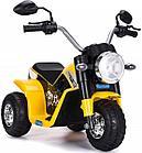 Детский электро-мотоцикл ZHEHUA 916-Yellow  72х57х56 см, желтый