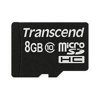 Карта памяти MicroSD 8GB Class 10 Transcend TS8GUSDC10
