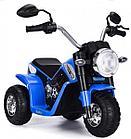 Детский электро-мотоцикл ZHEHUA 916-Blue (6V/4,5Ah*1, 20W*1, 72х57х56 см, Blue)