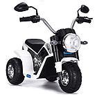 Детский электро-мотоцикл ZHEHUA 916-White (6V/4,5Ah*1, 20W*1, 72х57х56 см, White)