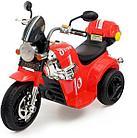 Детский электро-мотоцикл AIM BEST MD-1188 (6V/4Ah*1, 90х43х54 см, Red)