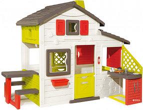 Smoby Игровой домик для друзей с кухней (звук) 217*155*172см