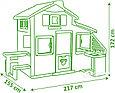 Smoby Игровой домик для друзей с кухней (звук) 217*155*172см, фото 2