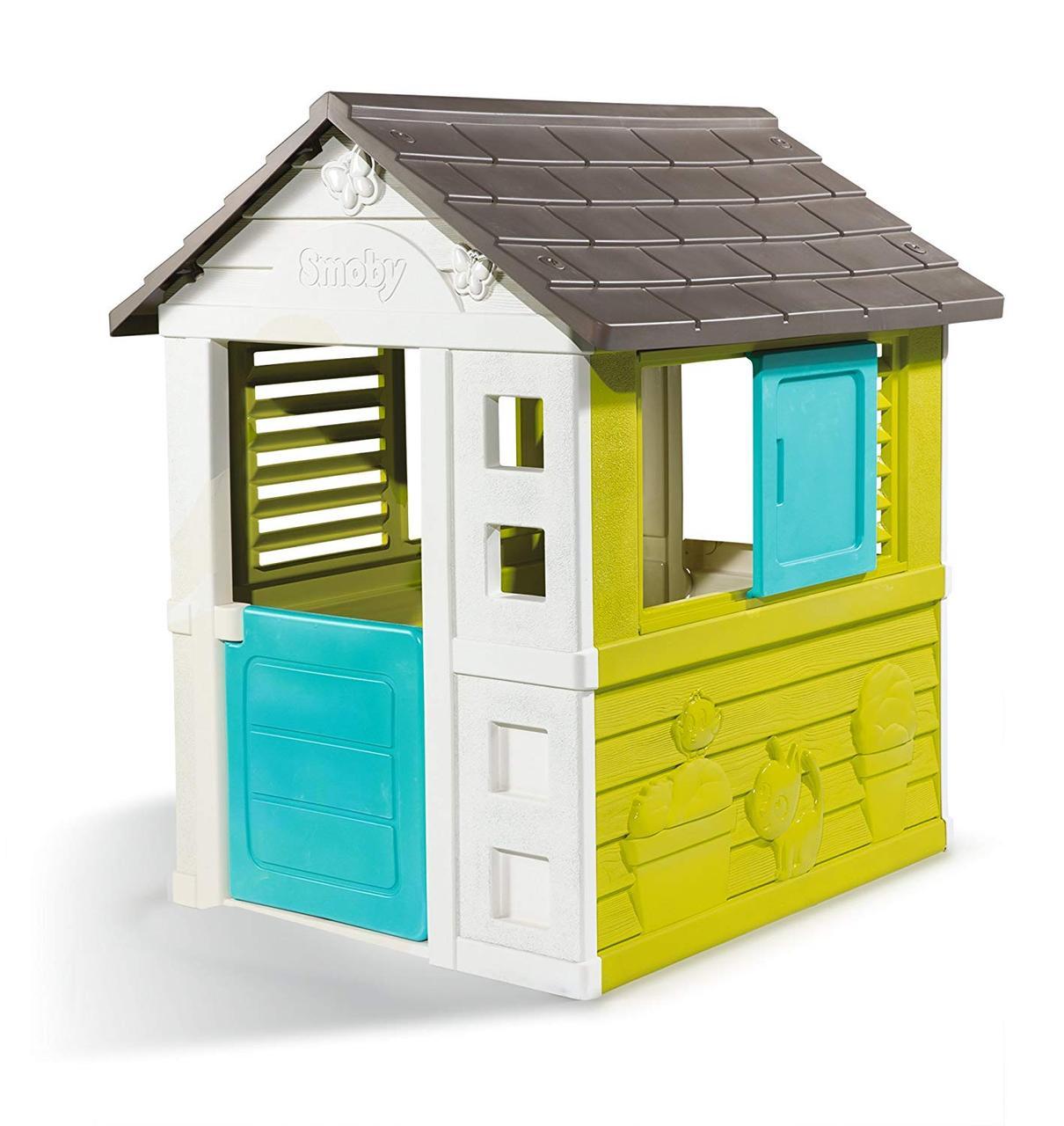 Smoby Игровой домик, BG, 98*111*127см