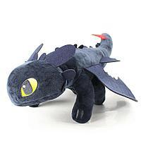Мягкая игрушка Беззубик (Как приручить дракона) 55 см