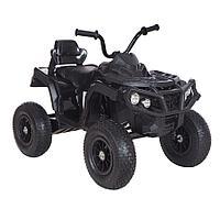 Детский электро-квадроцикл 12V/7Ah, 35W*2, надувные колеса, Черный/BLACK