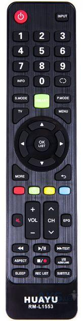 Универсальный пульт ДУ для телевизоров Daewoo HUAYU RM-L1553