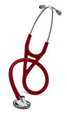 2163 Стетоскоп Littmann® Master Cardiology®, трубка бордового цвета, 69 см