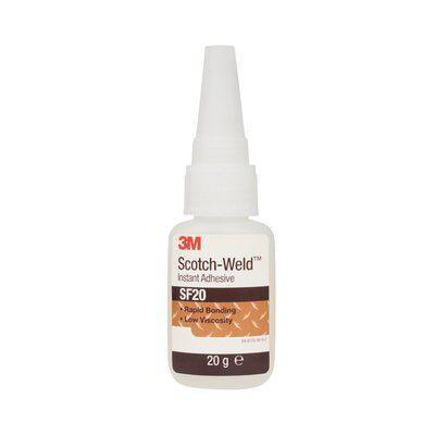 3M™ Scotch-Weld™ Клей цианакрилатный SF20, прозрачный, 20 г