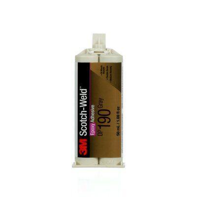 3M™ Scotch-Weld™ эпоксидный двухкомпонентный клей DP190, серый, 50 мл