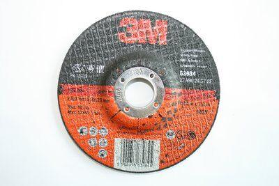 3M™ Зачистной Круг Inox Т27, 115 мм х 6,0 мм х 22 мм, №63983