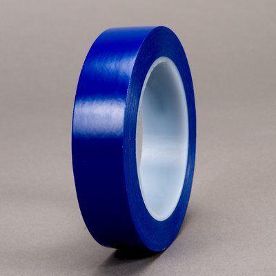3M™ Лента на виниловой основе 471+, синяя, 6 мм х 32,9 м