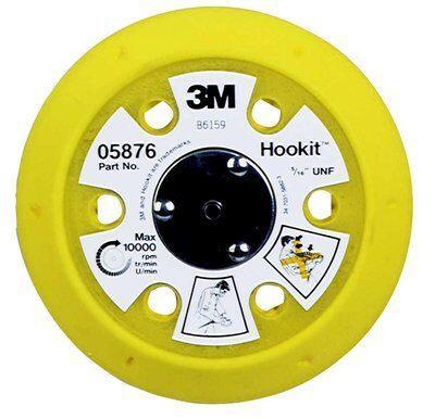 Оправки для абразивных дисков 3М™ Hookit™, 15 отверстий. ø150 мм, мягкая, 861А, резьба 5/16