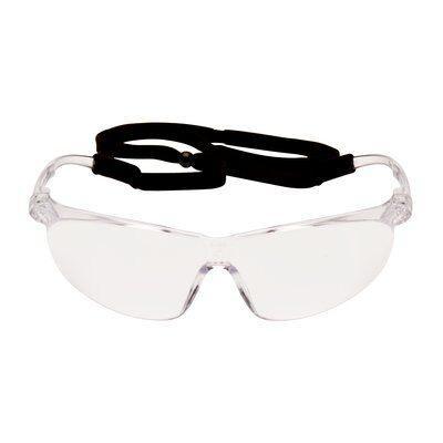 Очки защитные открытые 3M TORA, Прозрачная линза