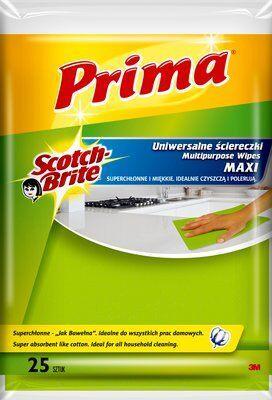 Салфетки бытовые Prima Maxi(25 шт/уп.)