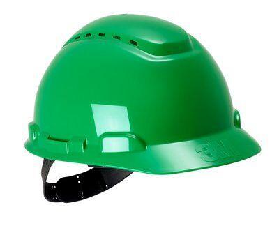 Каска защитная 3M™ H-700C-GP с вентиляцией, цвет зеленый