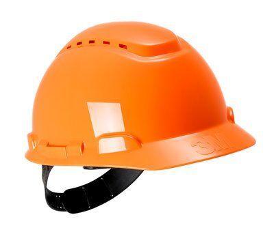 Каска защитная 3M™ H-700C-OR с вентиляцией, цвет оранжевый