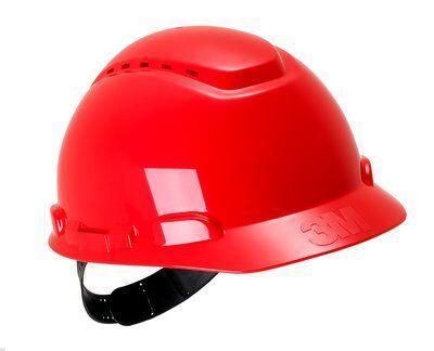 Каска защитная 3M™ H-700C-RD с вентиляцией, цвет красный