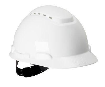 Каска защитная 3M™ H-700C-VI с вентиляцией, цвет белый