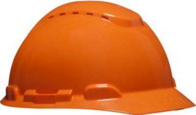 Каска защитная 3M™ H-700N-OR с вентиляцией, с храповиком, цвет оранжевый