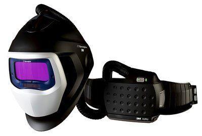 Сварочный щиток 3M™ Speedglas™ 9100 Air со светофильтром 9100Х, с блоком принудительной подачи воздуха 3M™ Adflo™