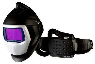 Сварочный щиток 3M™ Speedglas™ 9100 Air со светофильтром 9100ХХ, с блоком принудительной подачи воздуха 3M™ Adflo™