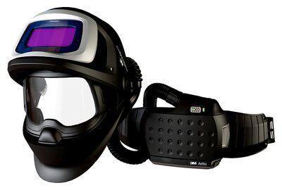 Сварочный щиток 3M™ Speedglas™ 9100 FX Air со светофильтром 9100Х, с блоком принудительной подачи воздуха 3M™ Adflo™
