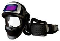 Сварочный щиток 3M™ Speedglas™ 9100 FX Air со светофильтром 9100Х, с блоком принудительной подачи воздуха 3M™ Adflo™, фото 1
