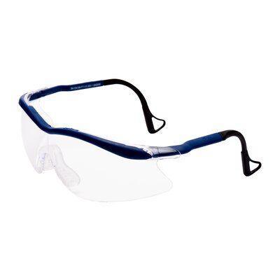 04-1022-0140M QX2000-BLUE Защитные очки, прозрачная линза,покрытие DX