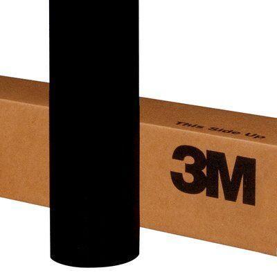 3M™ Пленка 3635-22b Самоклеящаяся Светоблокирующая, цвет черный матовый