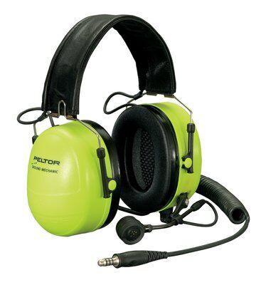 Гарнитура 3M™ Peltor™Ground Mechanics для авиации, модель 3M™ PELTOR™ Wired Ground Mechanic Headset MT7H79F-01 GB