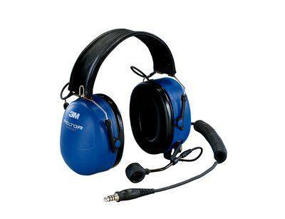 Гарнитура для взрывоопасных сред 3M™ PELTOR™ EX с двусторонней связью, 33 дБ, крепление на оголовье, MT7H79F-50