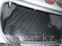 Коврик в багажник Daewoo Nexia (05-) (полимерный) L.Locker