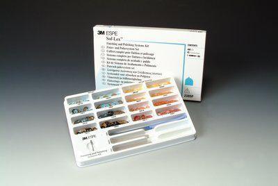 Диски и штрипсы для шлифования и полирования Sof-Lex™, полный набор