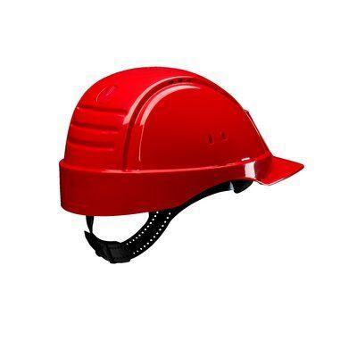 Каска защитная 3M™ PELTOR™ G2000CUV-RD с вентиляцией, цвет красный
