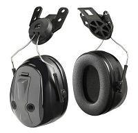 Наушники 3M™ PELTOR™ Optime™ Push To Listen с функцией включения возможности слышать, с креплением на каску
