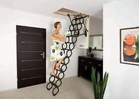 Чердачная лестница ножничная Oman 60х70х290см тел.Whats Upp. +7 701 100 08 59