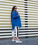 Женская джинсовая куртка удлиненная, фото 3