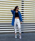 Женская джинсовая куртка удлиненная, фото 4