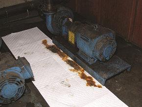 Салфетки и руллоны для ликвидации разливов нефтепродуктов/технических жидкостей/химических веществ