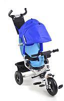 """Детский велосипед MINI TRIKE 950D (3-х кол, 10/8"""", 3 положения спинки, Blue-White)"""