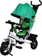 """Детский велосипед MINI TRIKE 950D (3-х кол, 10/8"""", 3 положения спинки, Green)"""